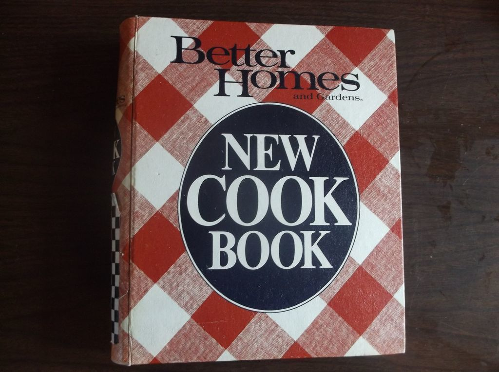 Better Homes Gardens New Cook Book 1981 9th Edition First