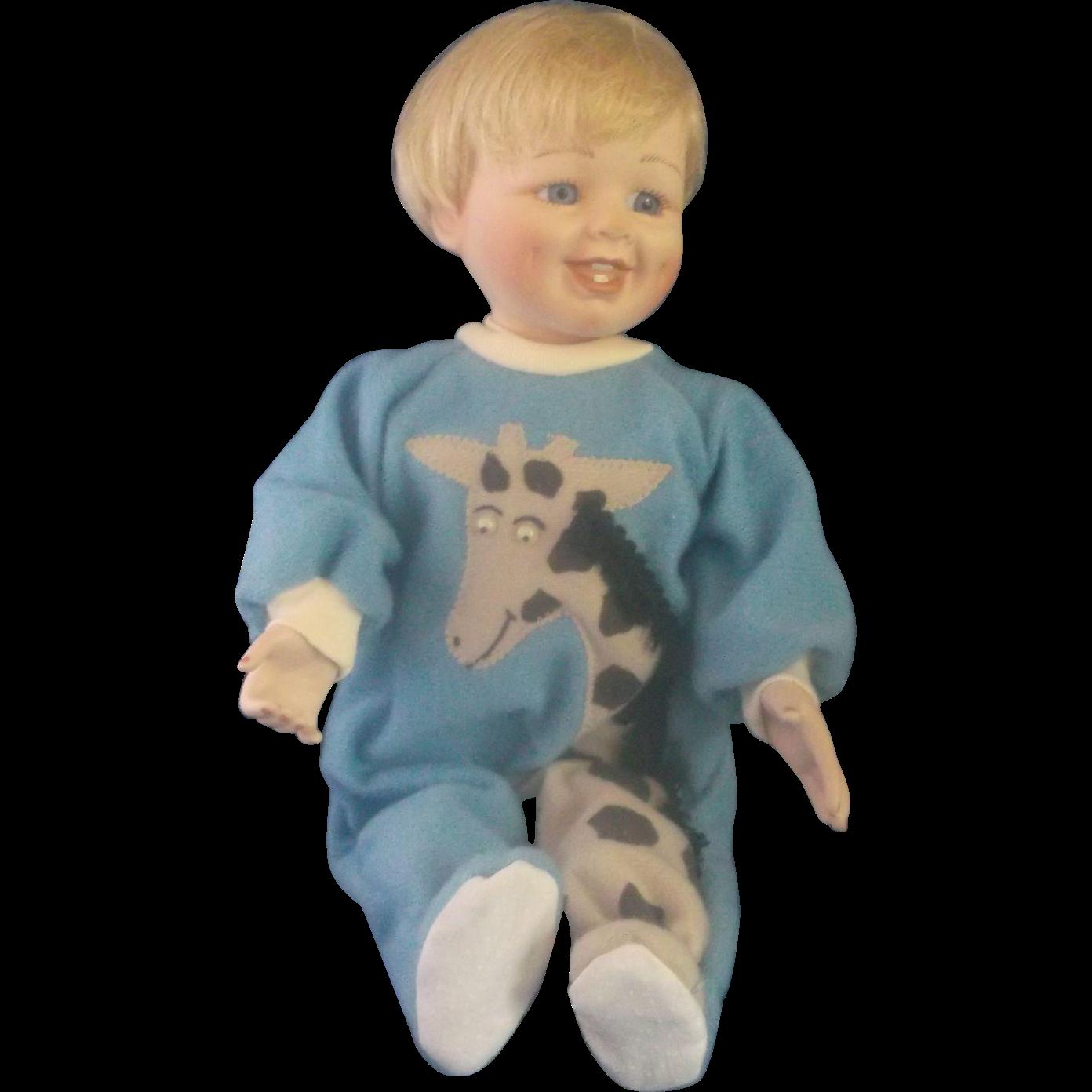 """Caught in the Act Little Stevie Mary Tretter Porcelain 12"""" Doll Ashton Drake Gallerie"""