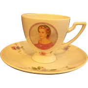 Princess Grace of Monaco Porcelaine de Monaco Cup Saucer