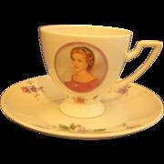 Princess Grace of Monaco Porcelaine de Monaco Cup Saucer