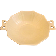 Fostoria Fairfax Ivory Custard Glass Small Bow Handle Bowl
