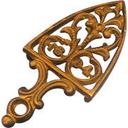 Wilton Cast Iron Trivet Iron Shape