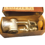 Universal No. 2 Meat Food Chopper Grinder Landers, Grary & Clark With Box