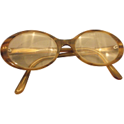 Giorgio Armani Glasses Faux Tortoiseshell Frames Full Rim 135mm Women Vintage