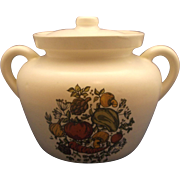 McCoy Spice Delight Bean Pot Crock Cookie Jar
