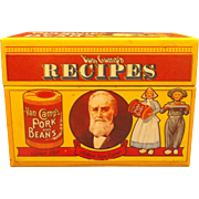 Van Camp's Pork and Beans Recipe Box 1986