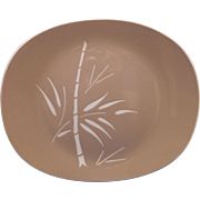 Harker Cameo Bamboo Harkerware Oval Platter