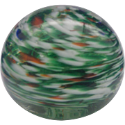Royal Roy-Al 1970 Art Glass Swirled Paperweight Ball