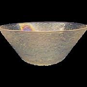 Soreno Aurora Iridscent Large Serving Bowl Anchor Hocking 4 QT