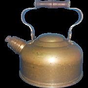 ODI Old Dutch International Copper Whistling Teapot Portugal