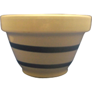 Robinson Ransbottom Blue Stripe Small Mixing Bowl Pottery