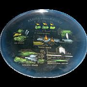 Aloha Hawaii Lacquer Ware Souvenir Tray