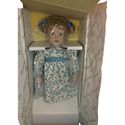 Pollys Tea Party Lizzie Doll MIB Edwin Knowles Susan Krey 1991