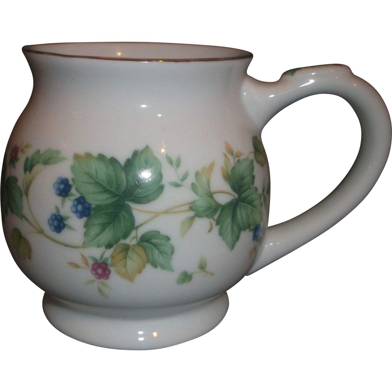 Andrea by Sadek Floral Porcelain Tea Pocket Mug Japan