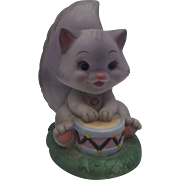 Rose Petal Place Pitterpat Cat Porcelain Figurine David Kirschener Royal Orleans