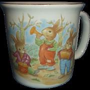 Mount Clemens Pottery Peter Rabbit Mug Childrens Dish