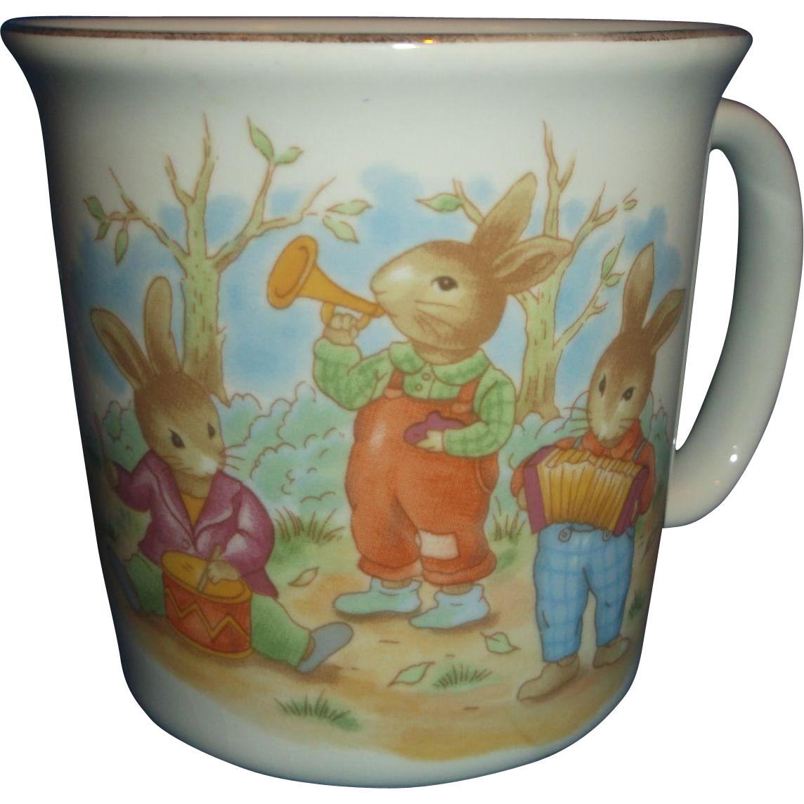 Mount Clemens Pottery Peter Rabbit Mug Childrens Dish