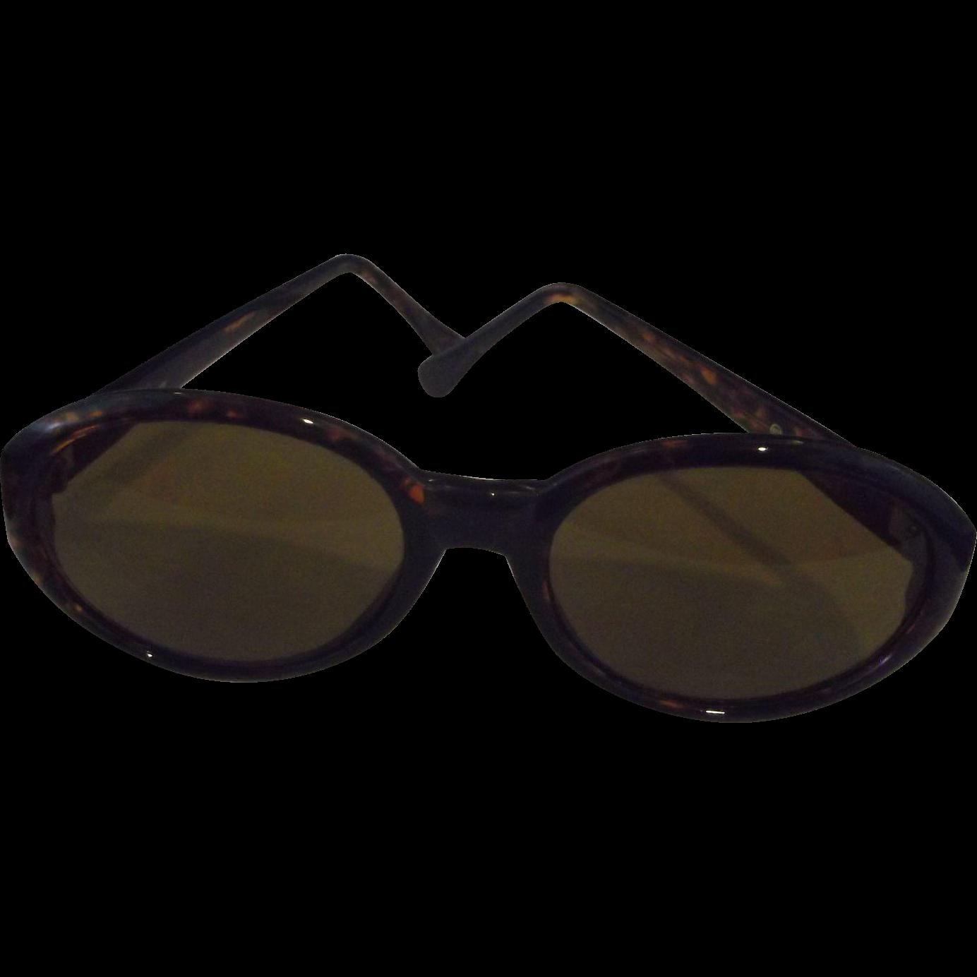 Taiwan Faux Tortoiseshell Sunglasses Round Frames
