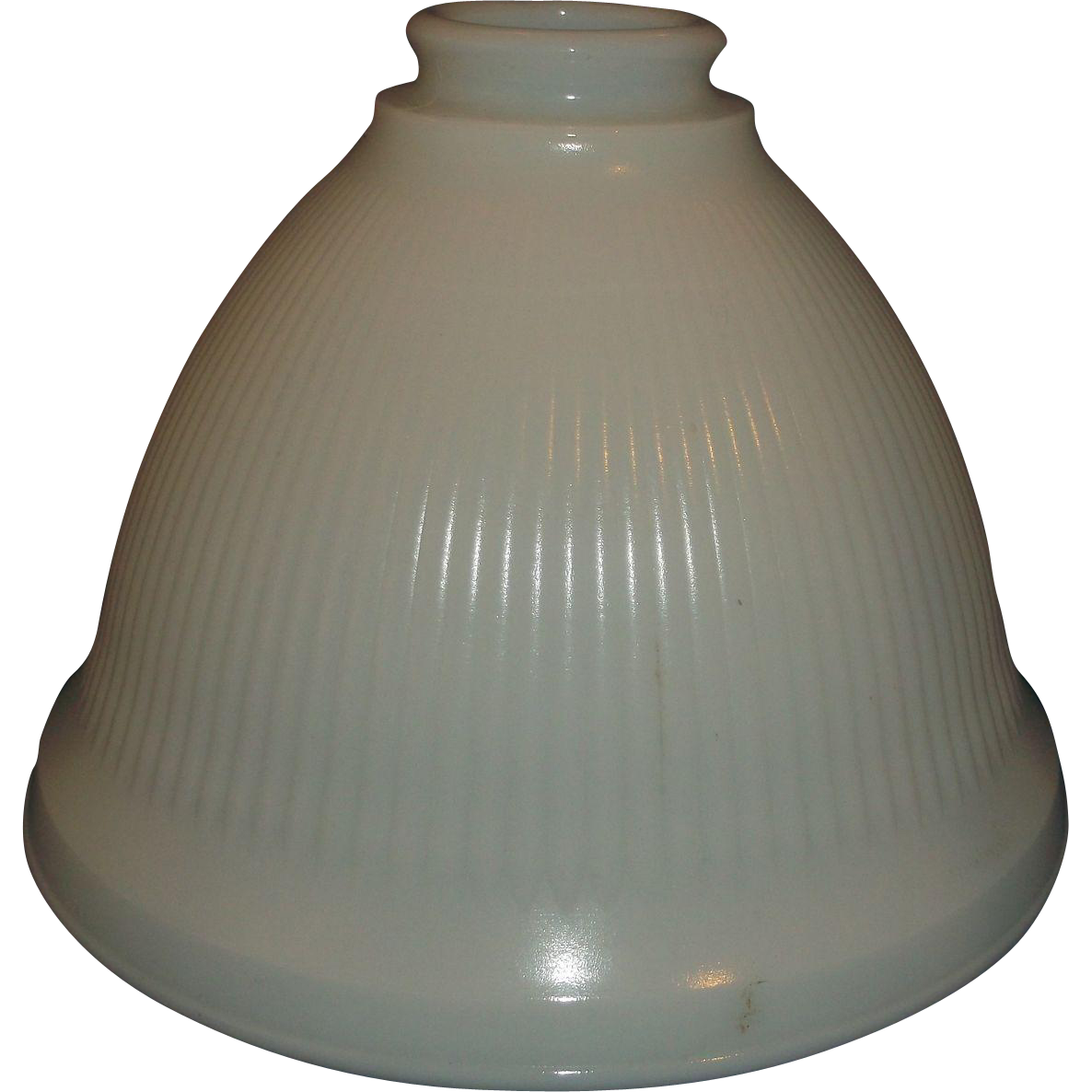 Milk glass torchiere ribbed light bell shape lamp shade medium size milk glass torchiere ribbed light bell shape lamp shade medium size sold ruby lane aloadofball Choice Image