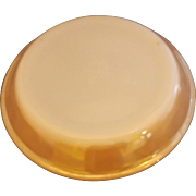 Fire-King Peach Lustre Pie Plate 9 IN Milk Glass Anchor Hocking