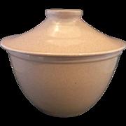 Pink Pebble Granite Pottery Grease Jar Cookie Jar Oven Proof USA