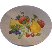 Royalon Fruit Delight Melmac Dinner Plates Set of 4