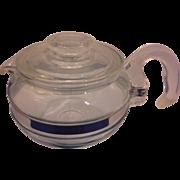 Pyrex Flameware Teapot 6 Cup Size 8336