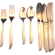 Oneida Twin Star Stainless Steel Flatware Set 20 Pcs