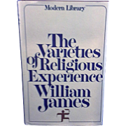 Varieties of Religious Experience by William James 1936 Modern Library First Edition