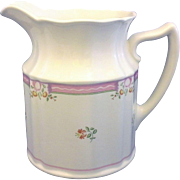 Laura Ashley Alice 24 Oz Pitcher Jug 6 IN
