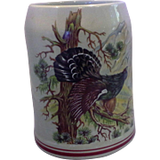 Pheasant Game Bird Nature Scene West German Stein .5L