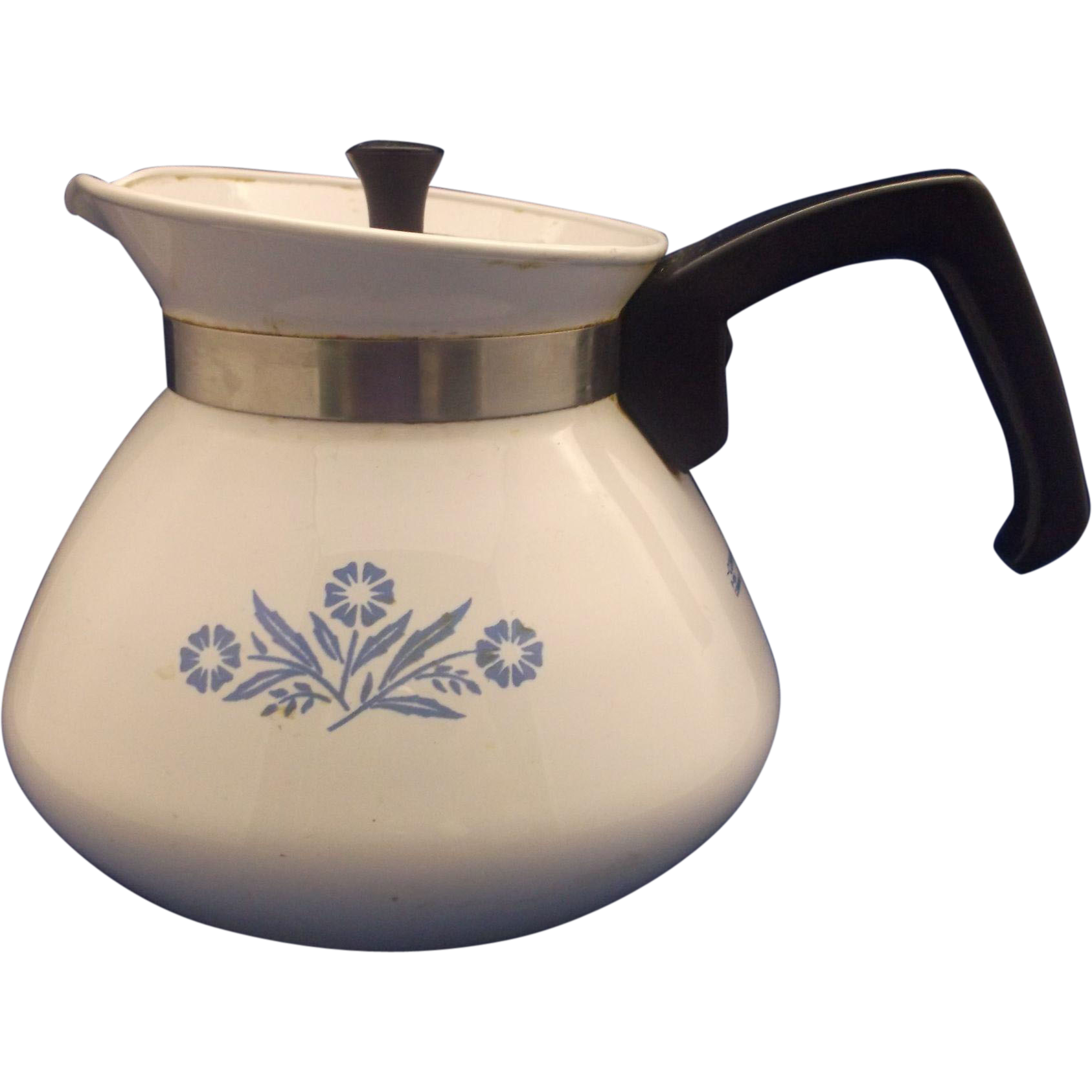 Corning Cornflower Corningware 6 Cup Tea Pot