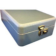 Pearlescent Green Metal File Box Locking With Key