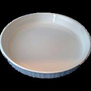 """Corning Ware F-3-B French White 10"""" Quiche Tart Pan Round"""