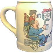 Celebration Happy Birthday for Papa Small Stein Mug Tankard