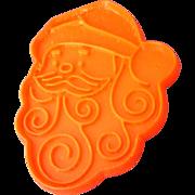 Hallmark Santa Red Plastic Cookie Cutter Vintage