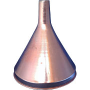 Pink Copper Colored Anodized Aluminum Funnel