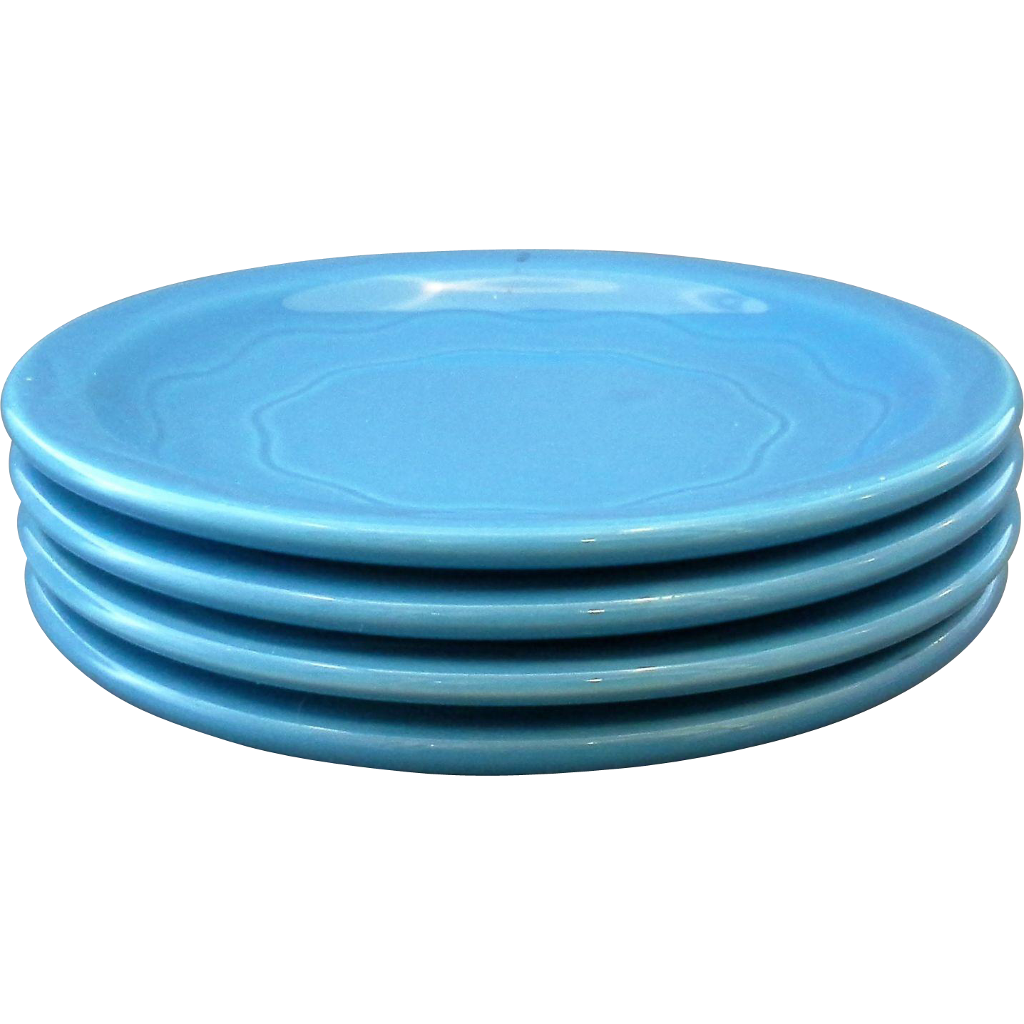 Syracuse Cantina Blueberry Bread Plates Set of 4