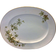 Noritake Ireland Trailing Ivy Oval Platter 15 IN
