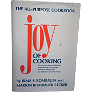 The Joy Of Cooking 1975 Edition February 1980 Printing Irma Rombauer Marion Rombauer Becker