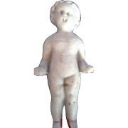 Frozen Charlotte White Bisque Bathing Doll Nude