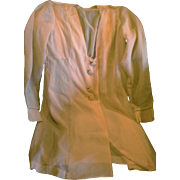 Peach Chiffon Bed Jacket Lounging Jacket Negligee