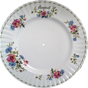 Royal Albert Poppy August Flower of the Month Tidbit Tray Dinner Plate Only