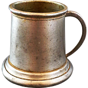 Sheffield England Pewter Stein Tankard Miniature Tiny 2 IN