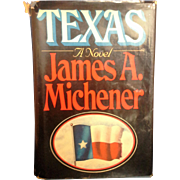 Texas James Michener Hardcover First Edition