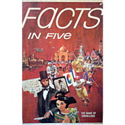 Facts in Five The Game of Knowledge 3M Bookshelf Games 1967
