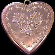 Copper Heart Shaped Mold ODI Old Dutch International