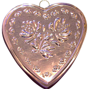 Copper Heart Shaped Mold ODI Old Dutch International