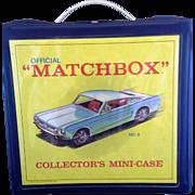 Matchbox Collectors Mini Case No 8 1967 Lesney Products 18 Slots