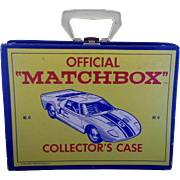 Matchbox Collectors Case No 41 1966 Lesney Empty 48 Slots